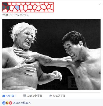 フェイスブックの馬場対ブラッシー